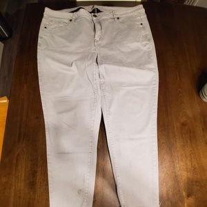 Mid-Rise Super Stretch Ankle Skinny, Sz 20